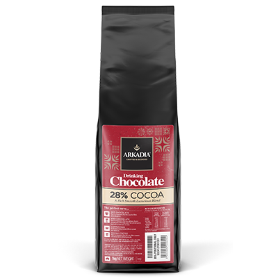 Arkadia 28% Drinking Chocolate 1kg