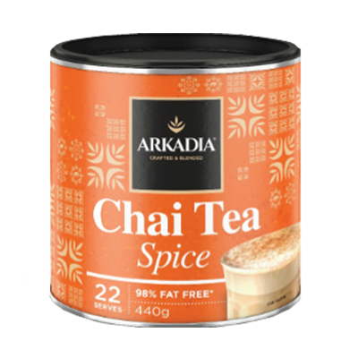Arkadia Chai Tea Spice 440g Tin