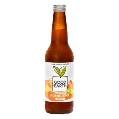 Good Earth Peach Kombucha