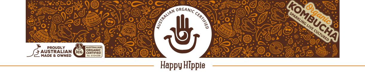 Happy Hippie Kombucha