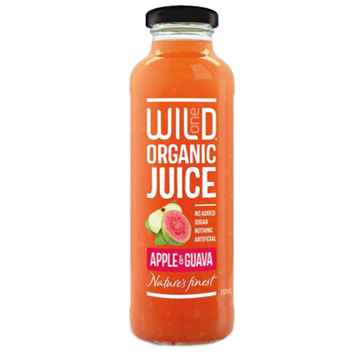 Wild1 Organic Juices | Apple & Guava