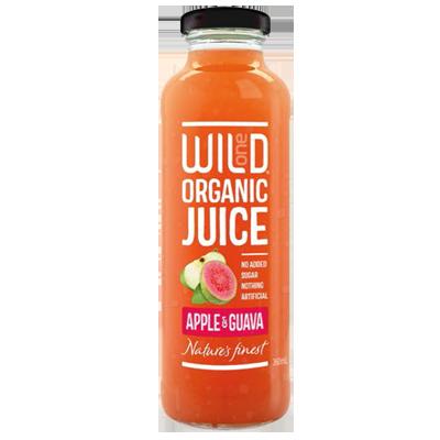 Wild1 Organic Juices | Apple & Guava