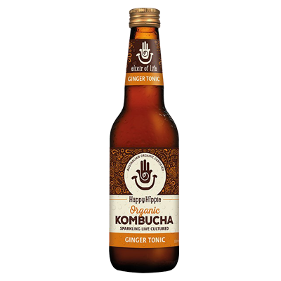Happy Hippie Kombucha | Ginger Tonic
