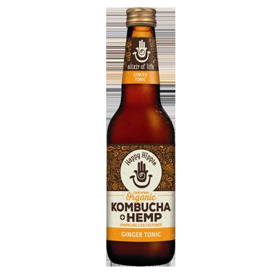 Happy Hippie Kombucha + Hemp | Ginger Tonic