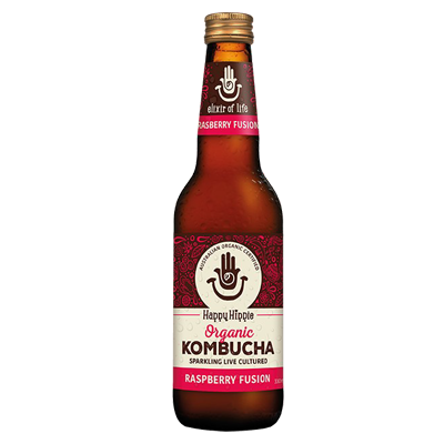Happy Hippie Kombucha | Raspberry Fusion