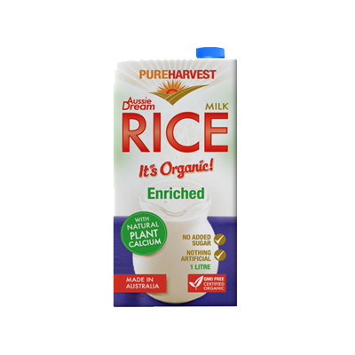 Pure Harvest Aussie Dream Rice Milk Enriched